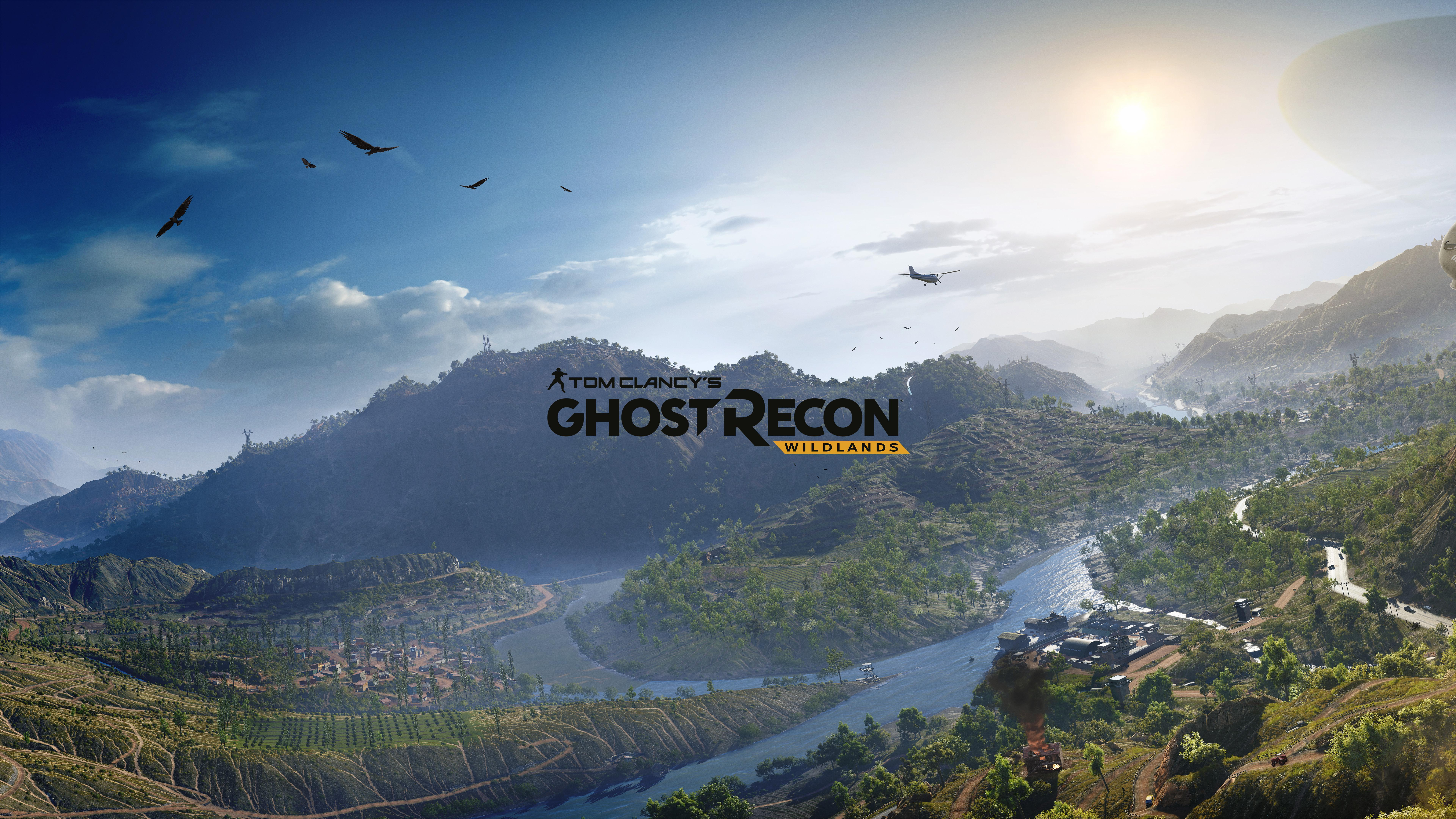 Wallpaper Tom Clancys Ghost Recon Wildlands Best games game