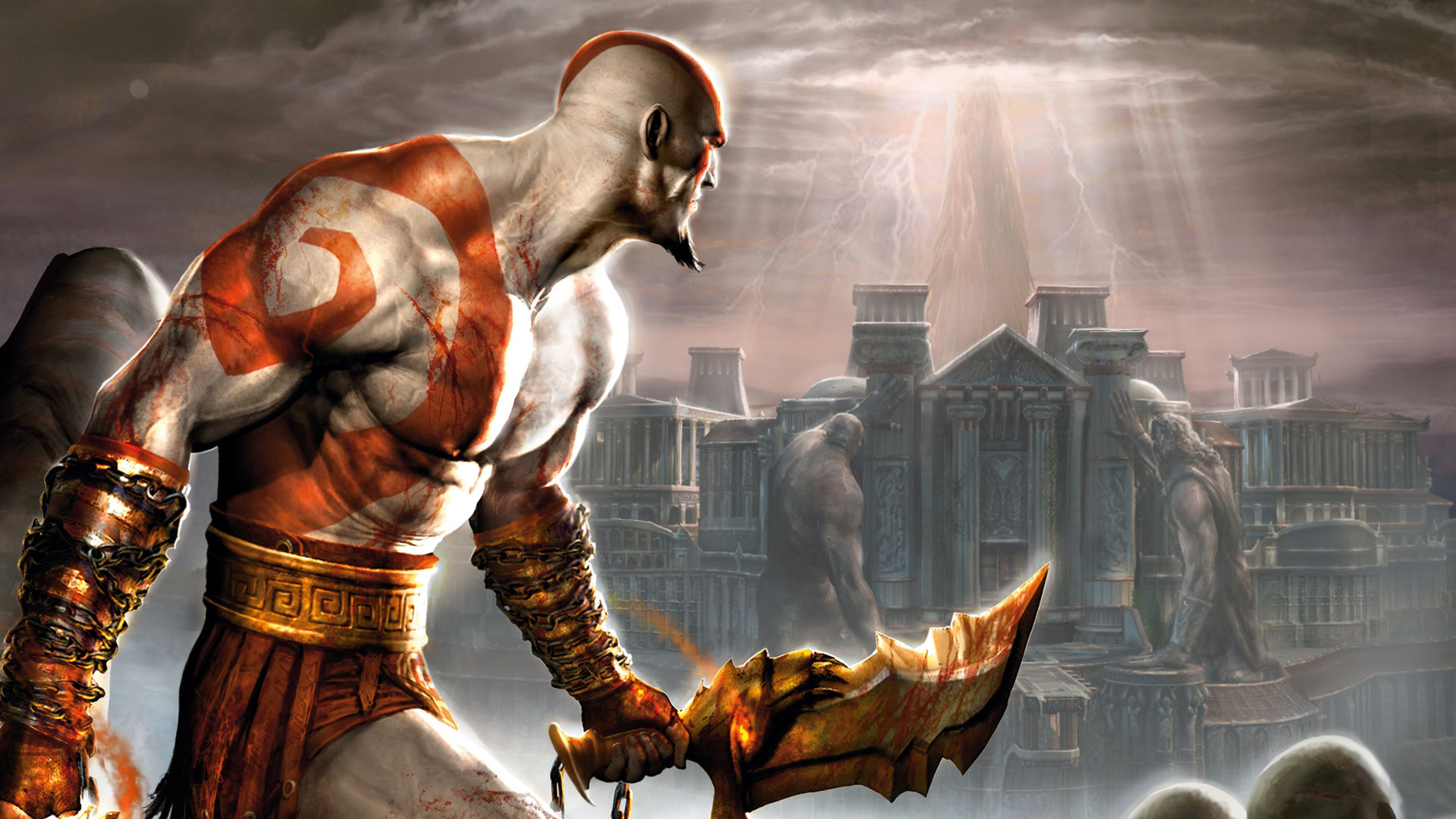 God of War Chains of Olympus HD Wallpapers Background Images