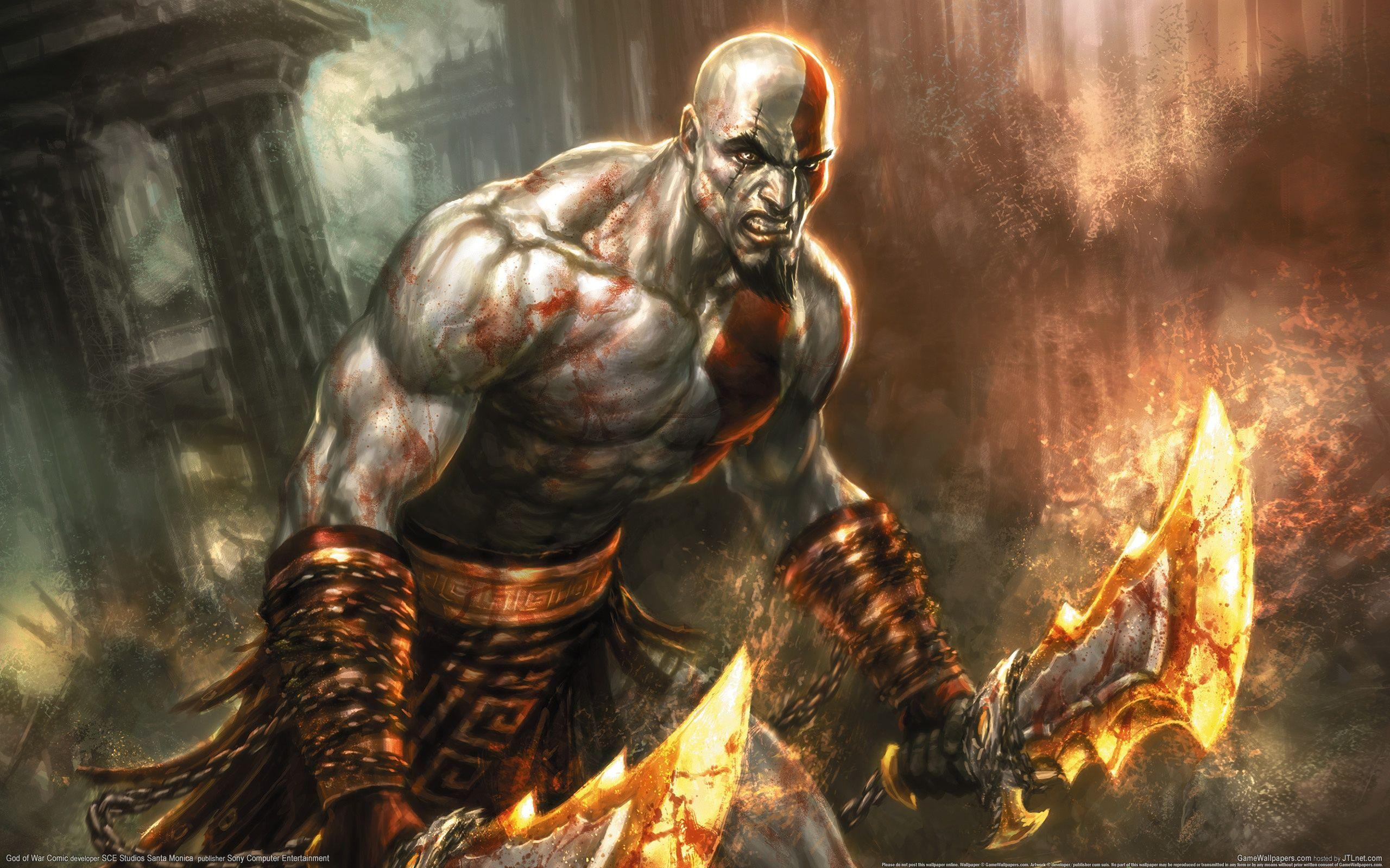 Free Download God Of War Wallpapers i