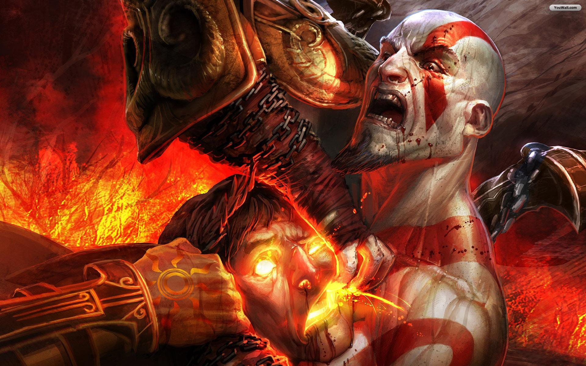 Free God Of War Best Live HD Wallpapers APK Download For Android