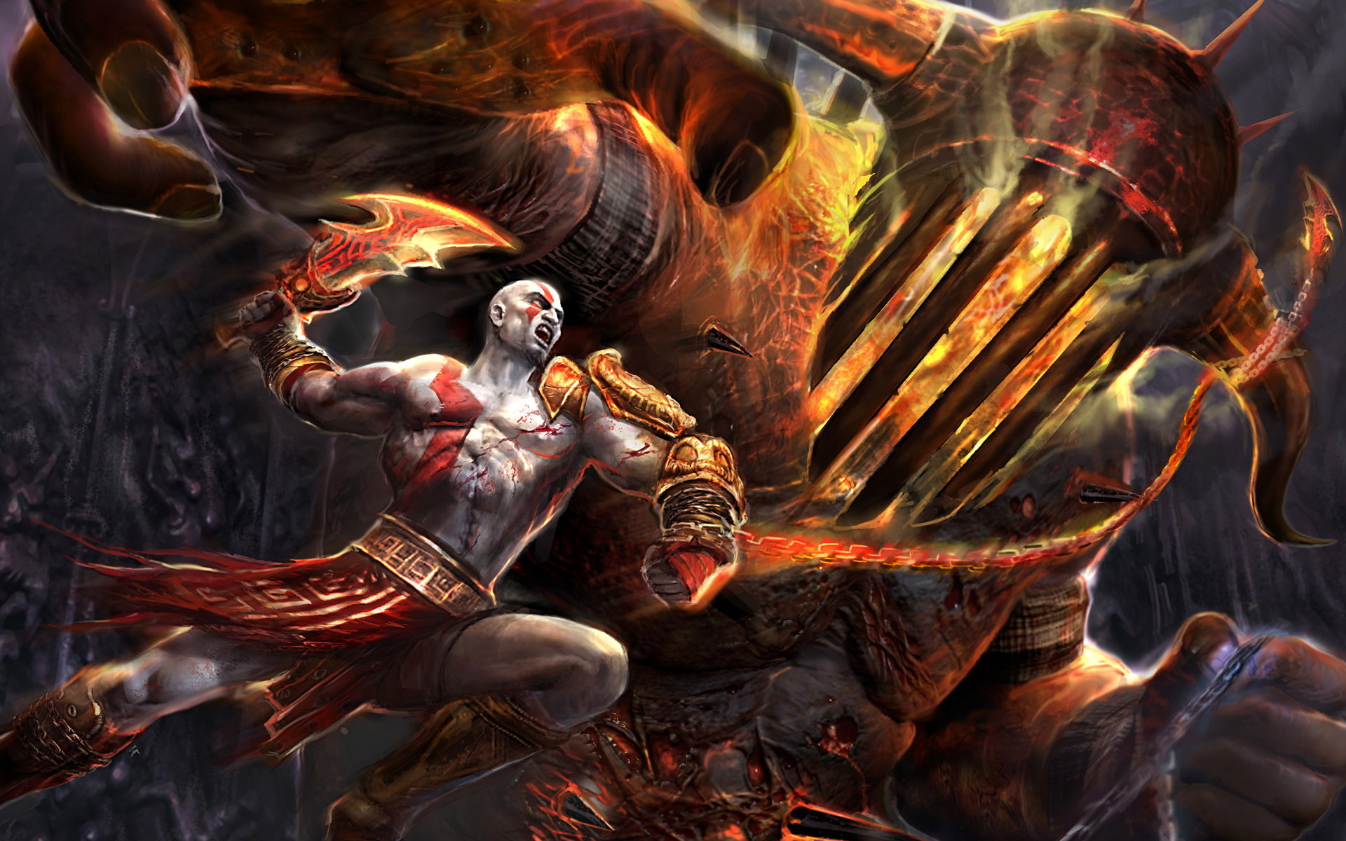 God Of War HD Wallpapers In Jpg Format For Free