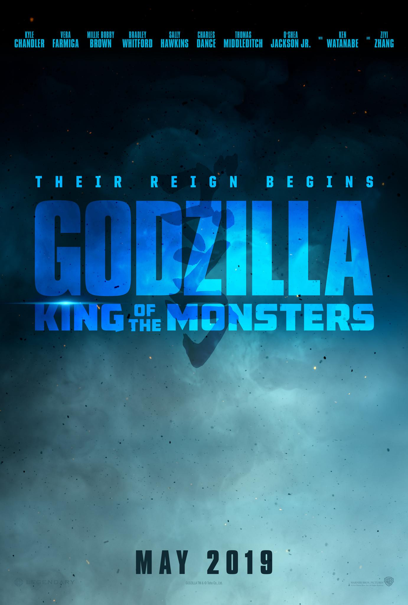 Wallpaper Godzilla King of the Monsters K Movies