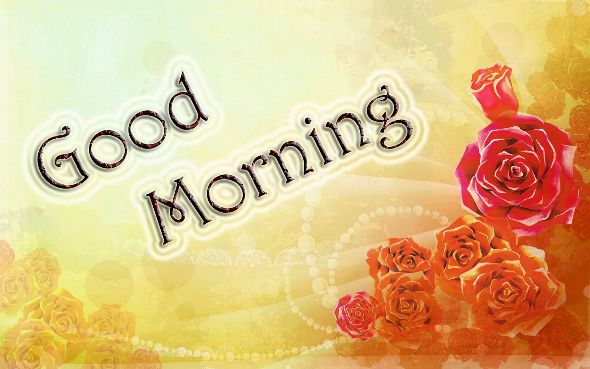 stylish Good Morning HD Wallpapers in English  Hindi  HD Walls 1920x1200
