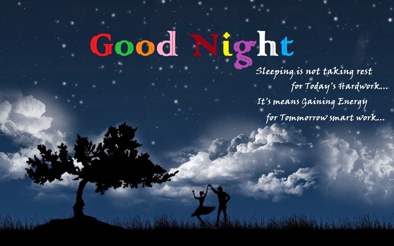 Good Night Images, Good Night Wallpapers and Pictures for facebook 1600x1000
