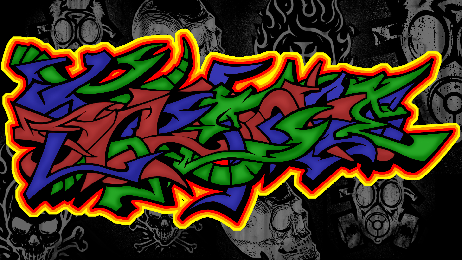 Awesome graffiti backgrounds wallpaper 1920x1080 voltagebd Image collections