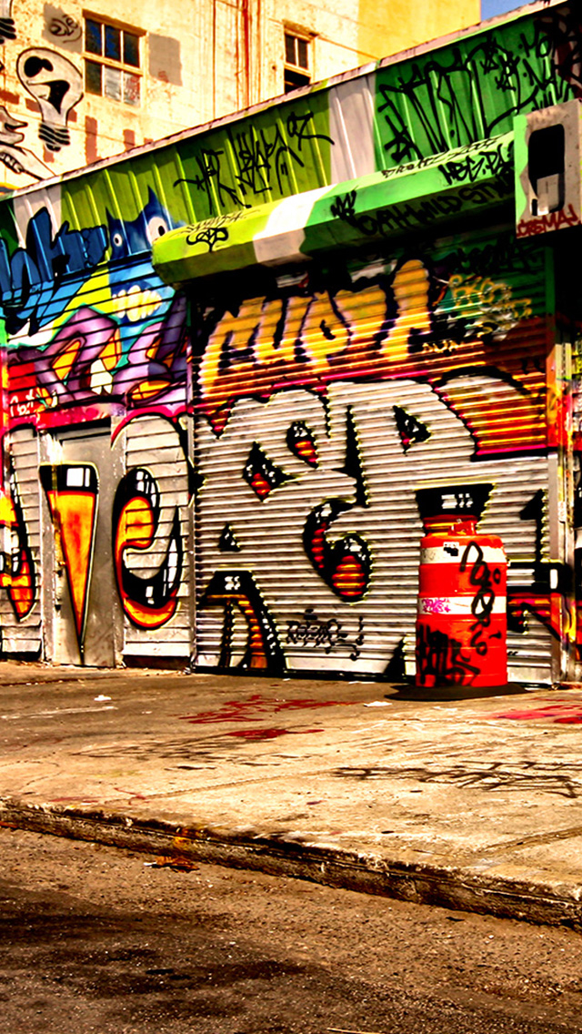 Graffiti Wallpapers For Mobile WallpaperPulse 640x1136