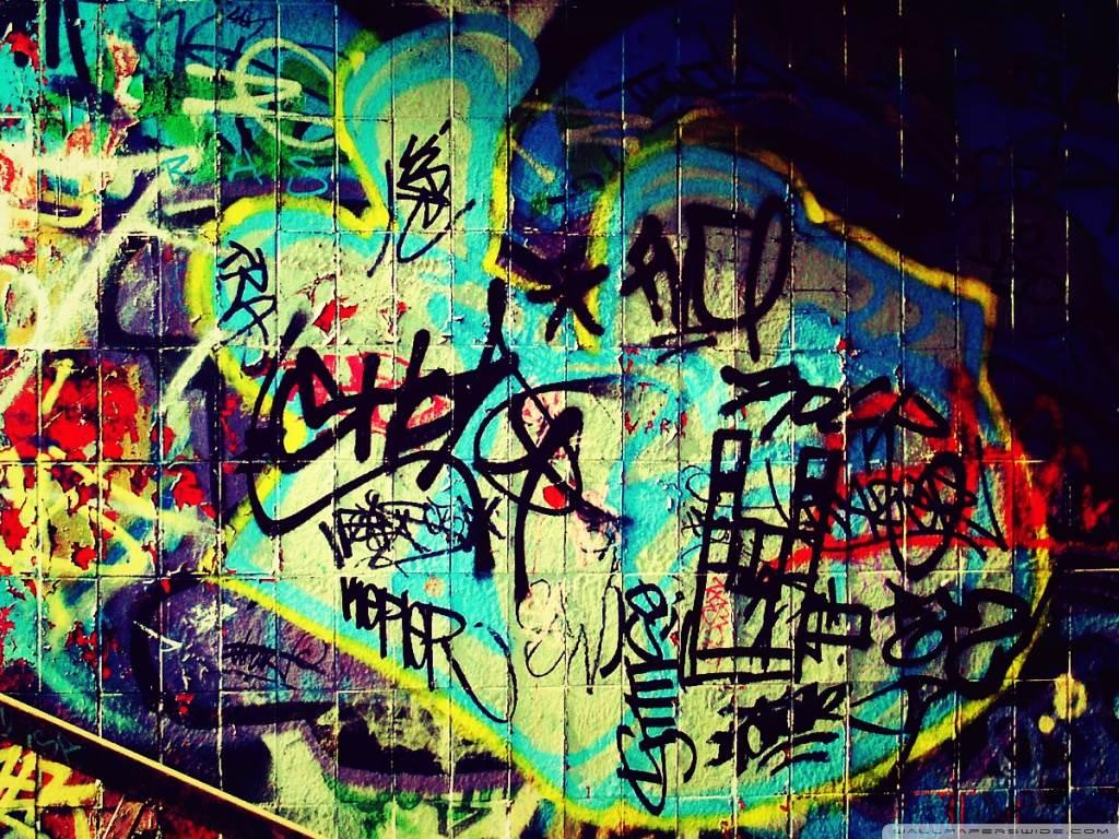 Graffiti HD Desktop Wallpaper Widescreen High Definition 1024x768