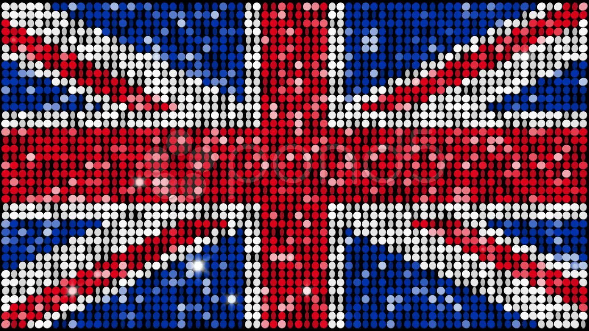 The flag of Great Britain HD Wallpaper 1920x1080