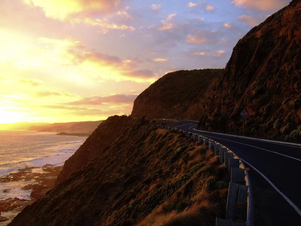 Great Ocean Road Australia Wallpaper for Living Room Wall