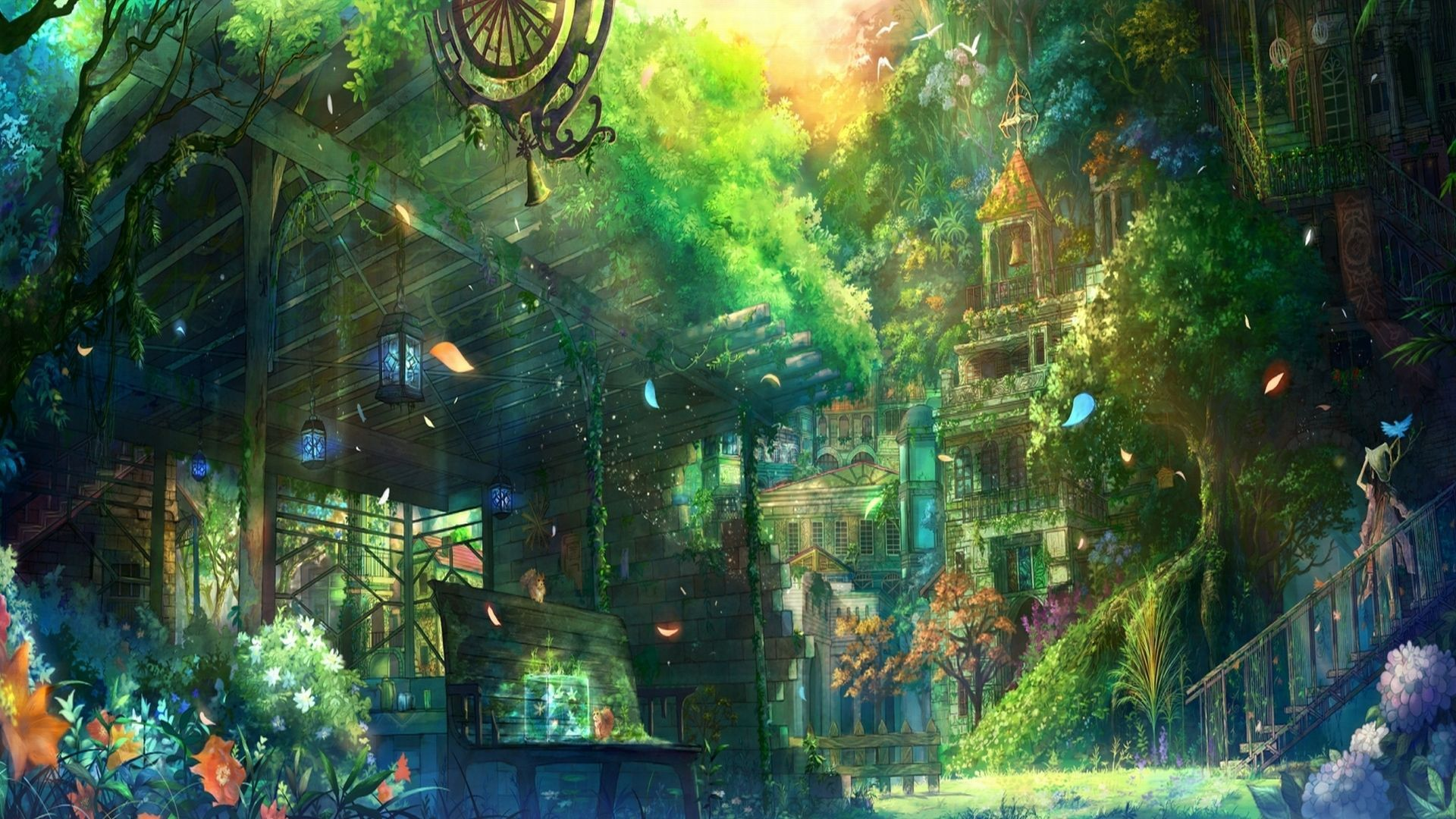 Anime Scenery HD Wallpapers Page 1920x1080