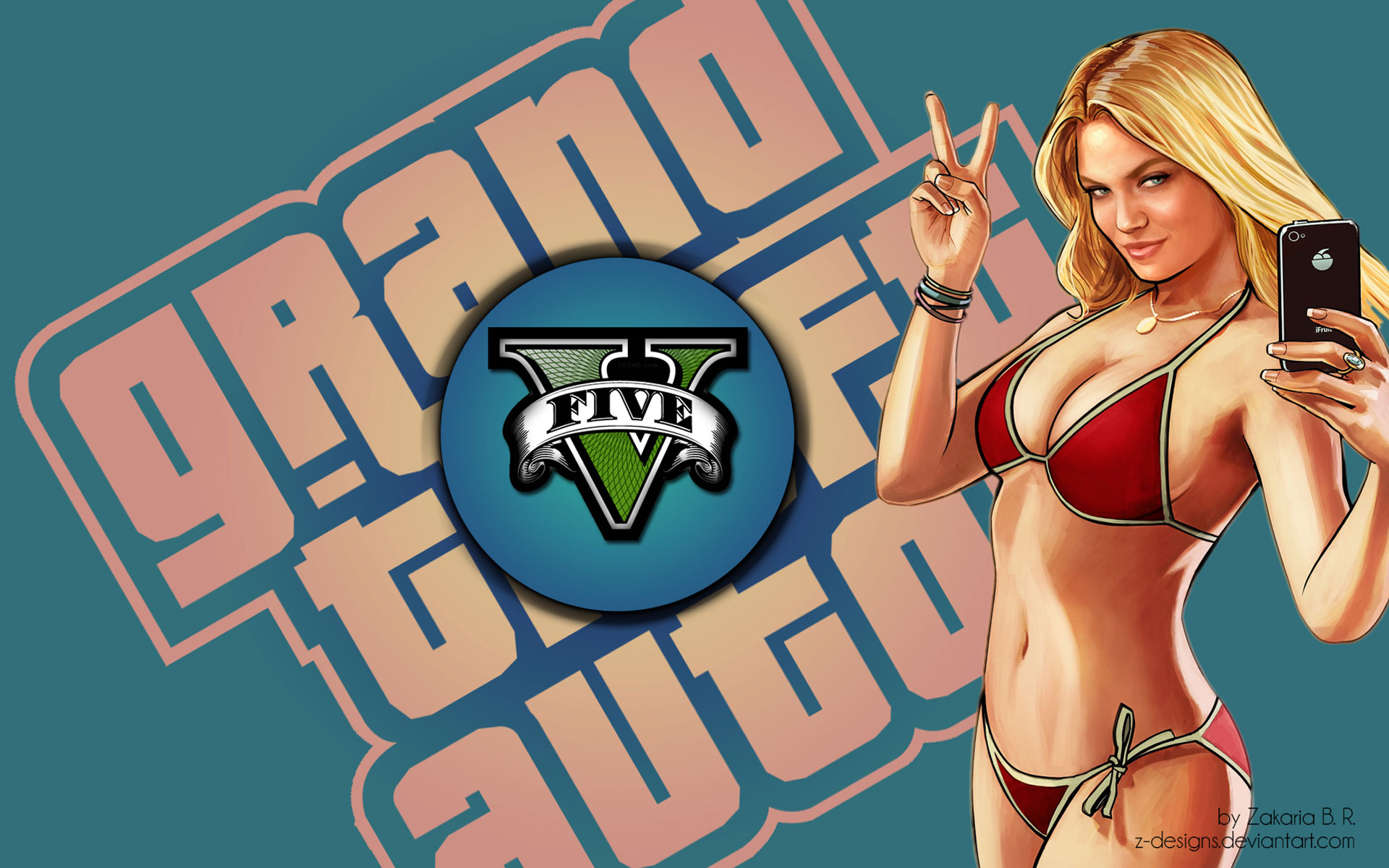 gta  wallpaper 1920x1200