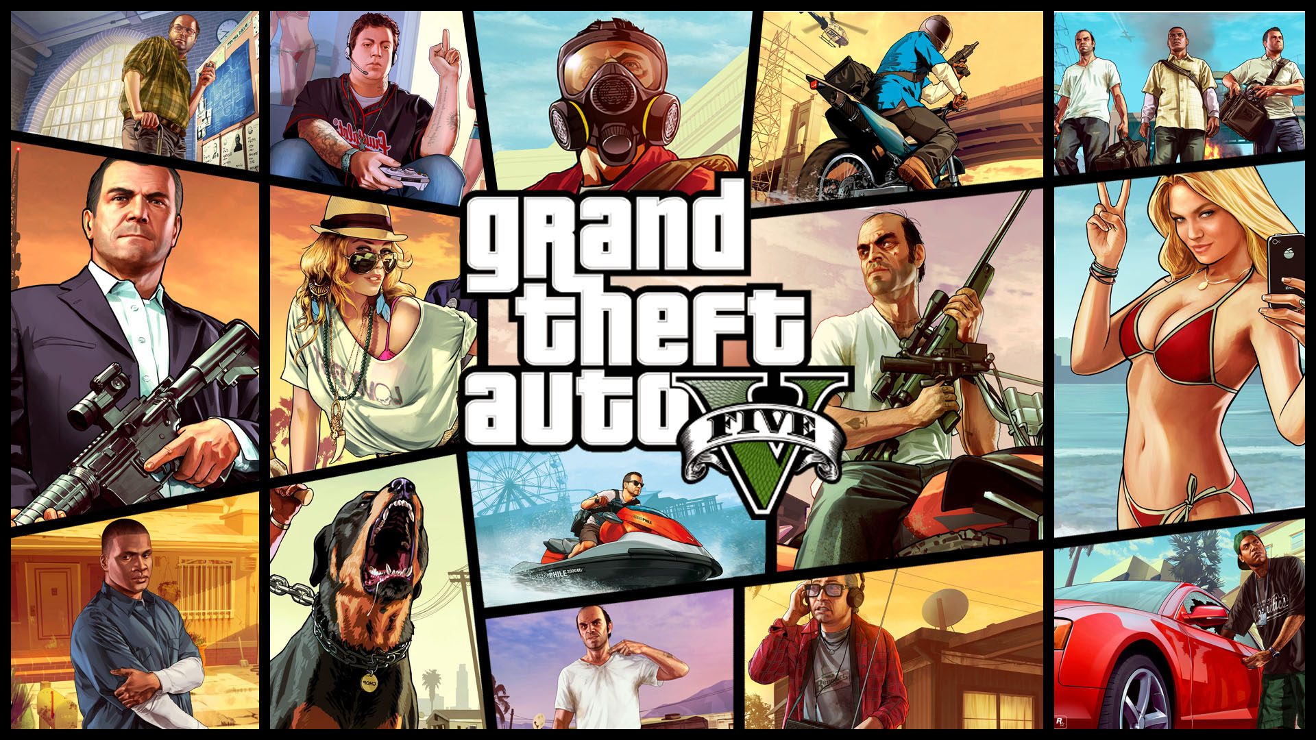 High Definition Collection: GTA  Wallpaper Free,  Full HD GTA  1920x1080