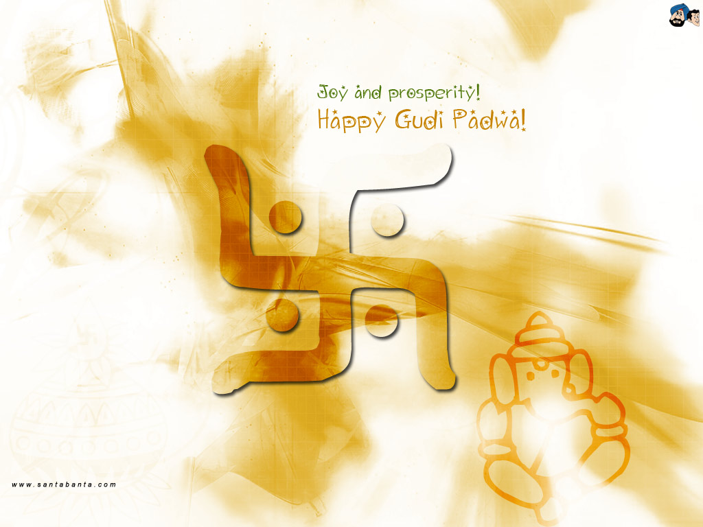 Happy Gudi Padwa Greetings Wishes Ecards Pictures in Marathi rh