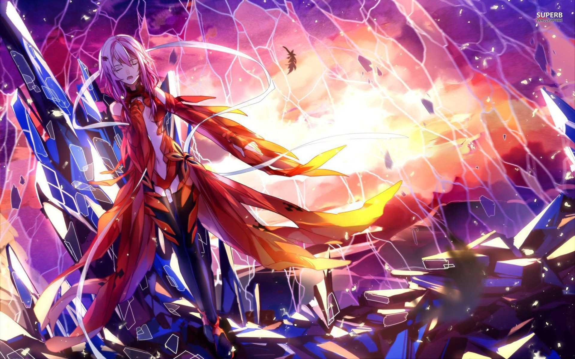Inori Yuzuriha Guilty Crown Inori Phone Free Wallpaper