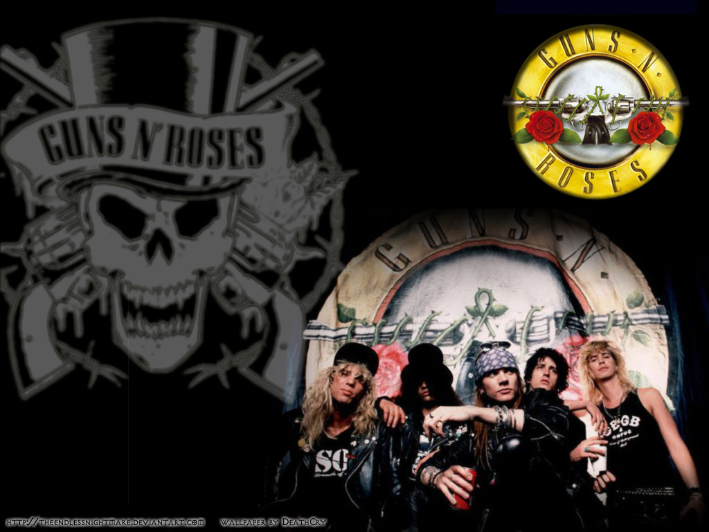 Guns And Roses Wallpapers 1024x768