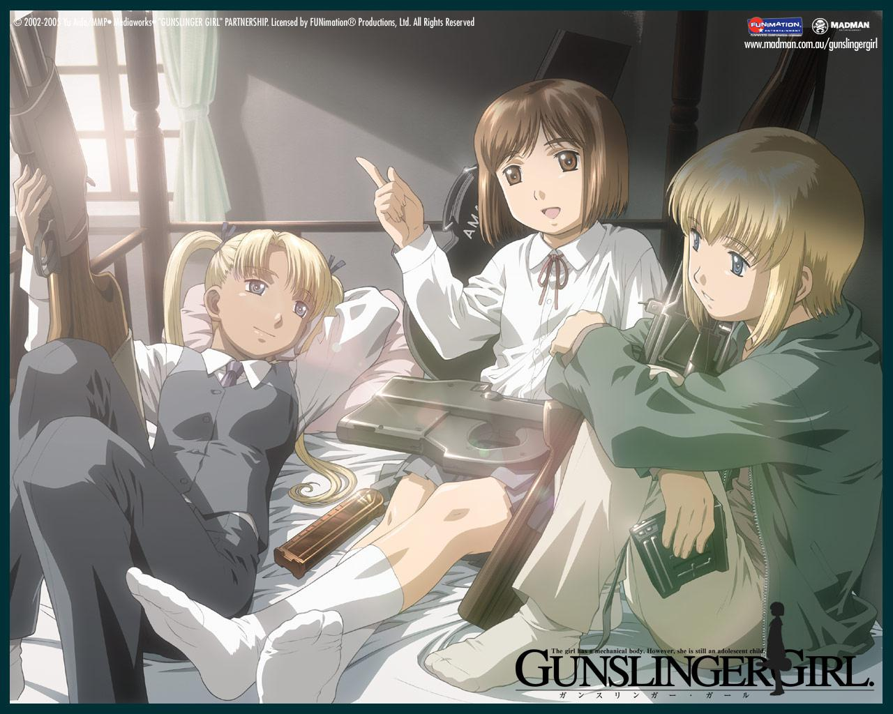 Gunslinger Girl Rico Wallpapers