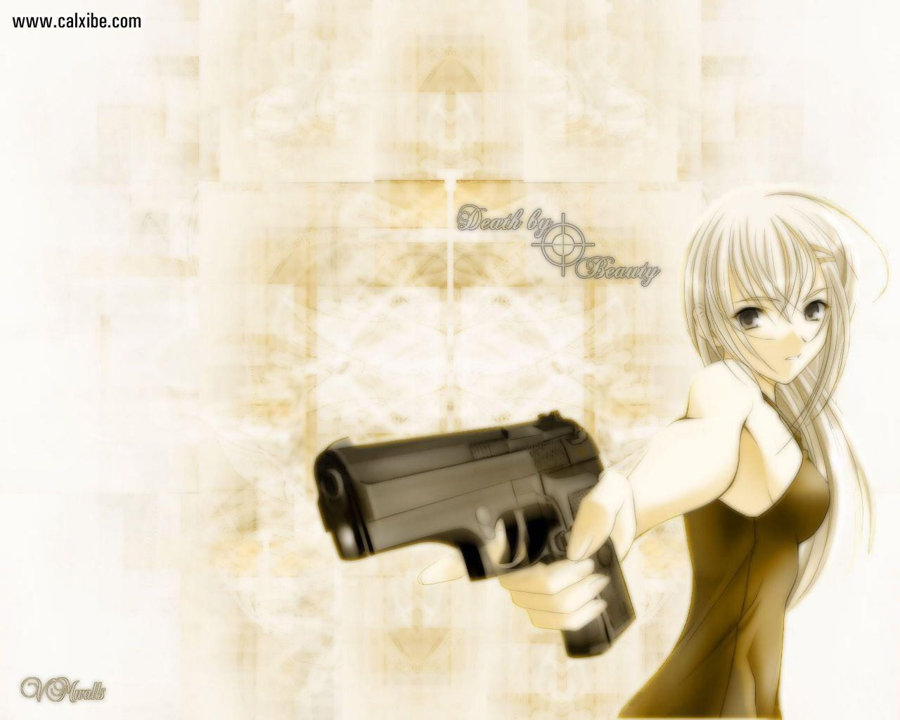 Gunslinger Girl rico Henrietta Gunslinger Girl wallpaper