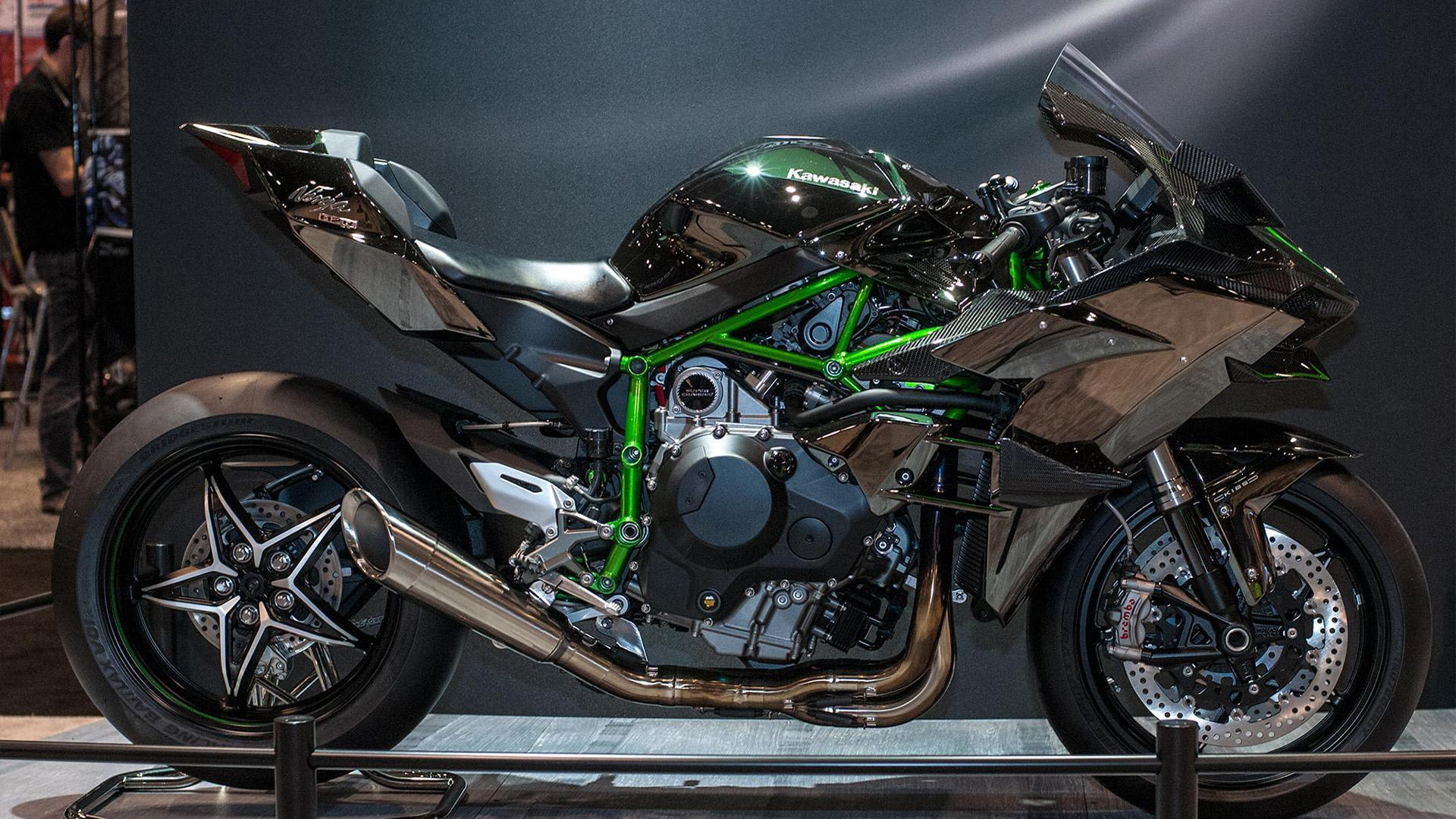 HD wallpaper Kawasaki Ninja H Carbon Limited Edition