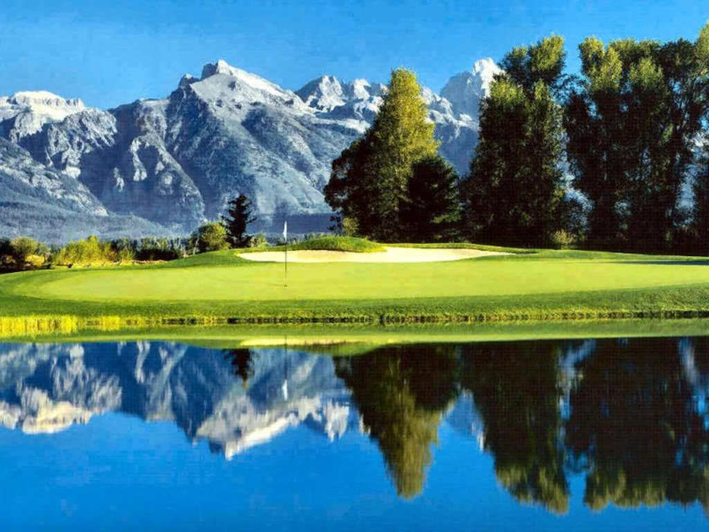 On The Golf Course Wallpapers K Hd Desktop Backgrounds Phone Images 1024x768