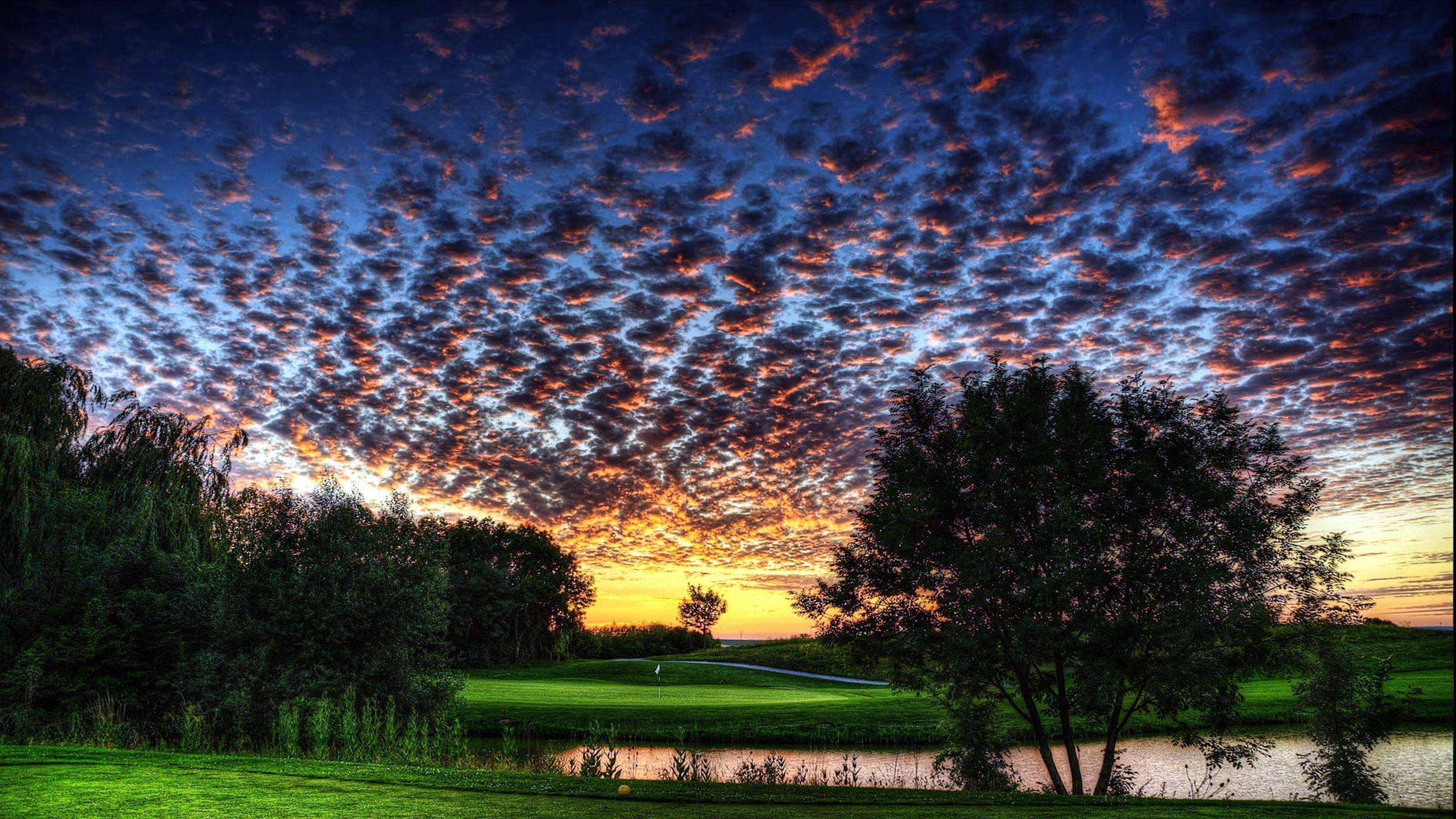 Golf Desktop Wallpapers K Ultra Hd 2560x1440
