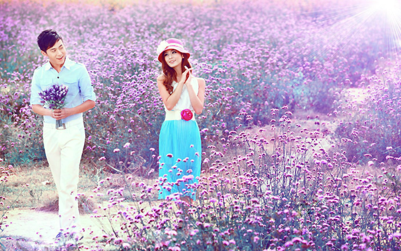 love couple wallpaper 1280x800