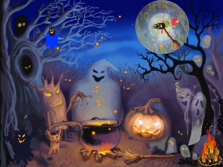 Happy Halloween  HD Wallpapers Free Download  HD Wallpapers 924x694