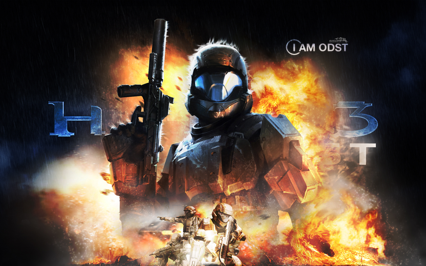 iPhone Video Game/Halo : Odst  Wallpaper ID:  1440x900