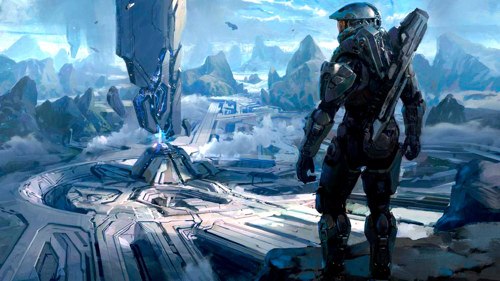 Halo HD desktop wallpaper : High Definition : Fullscreen 1920x1080