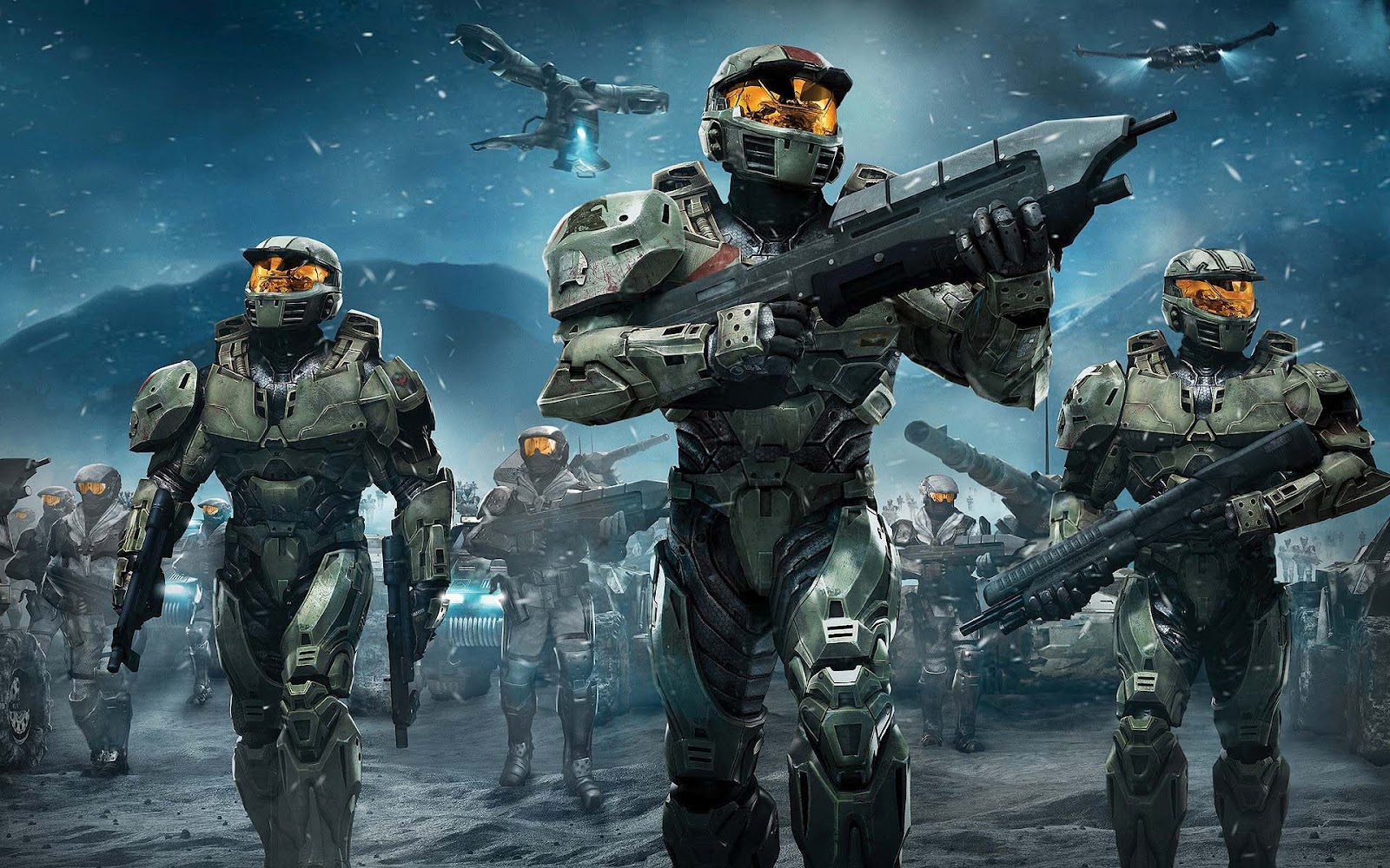 Halo Reach Elite Wallpaper 1600x1000