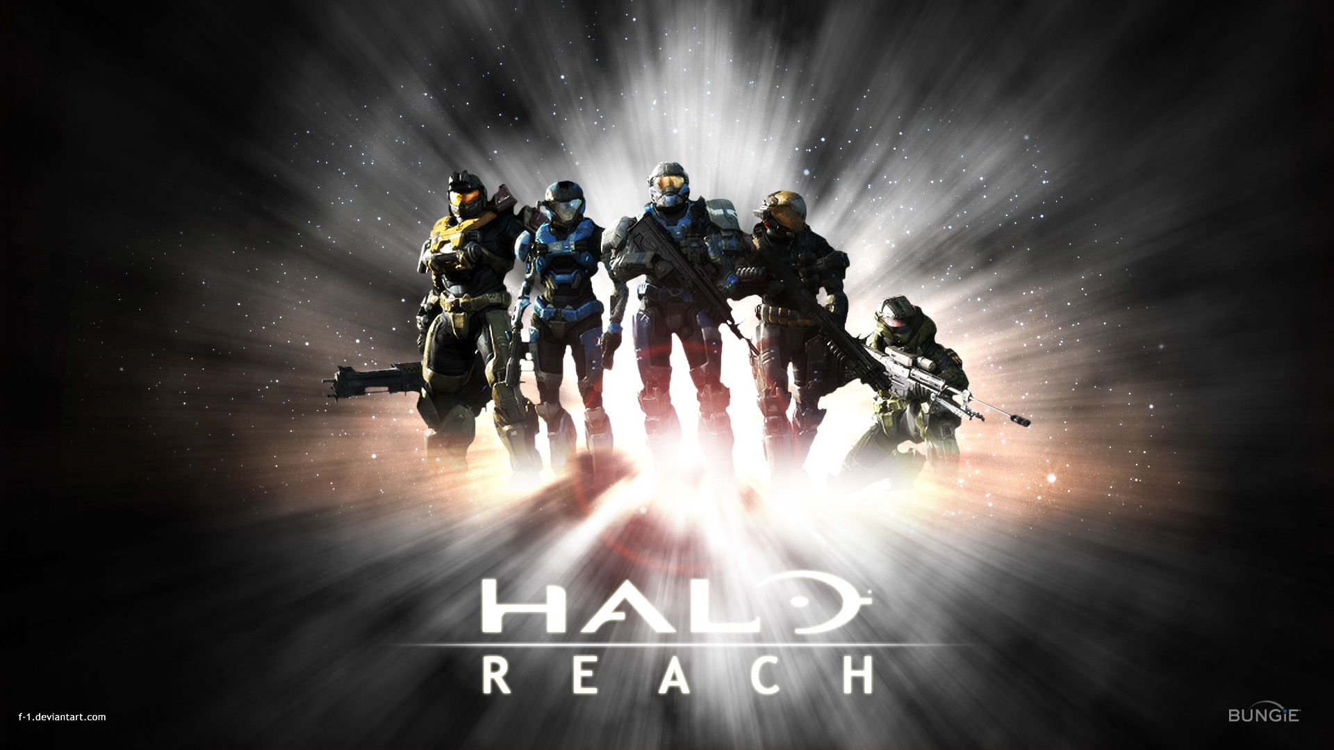 Halo Reach All Characters  wallpaper HD Halo Wallpapers  Wallpaper  1920x1080