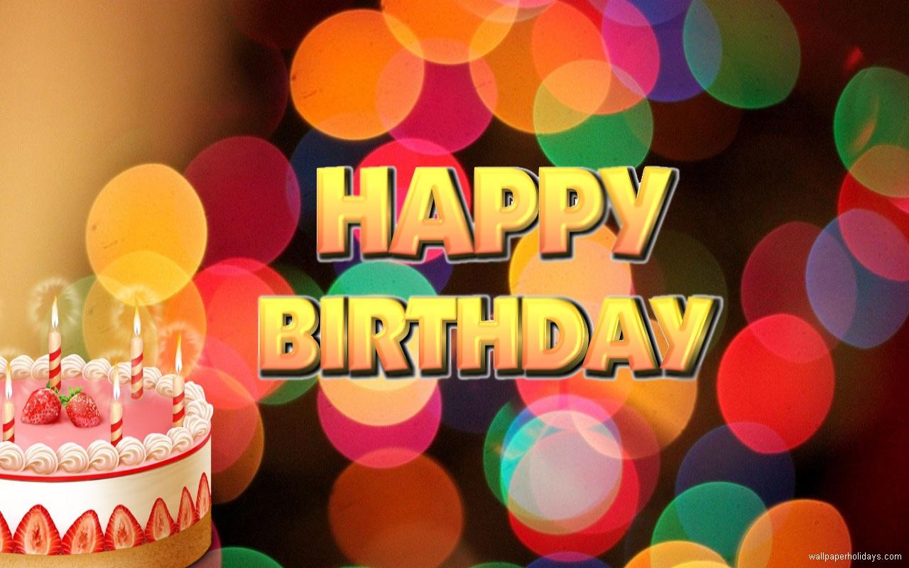 free happy birthday wallpaper group 1280x800