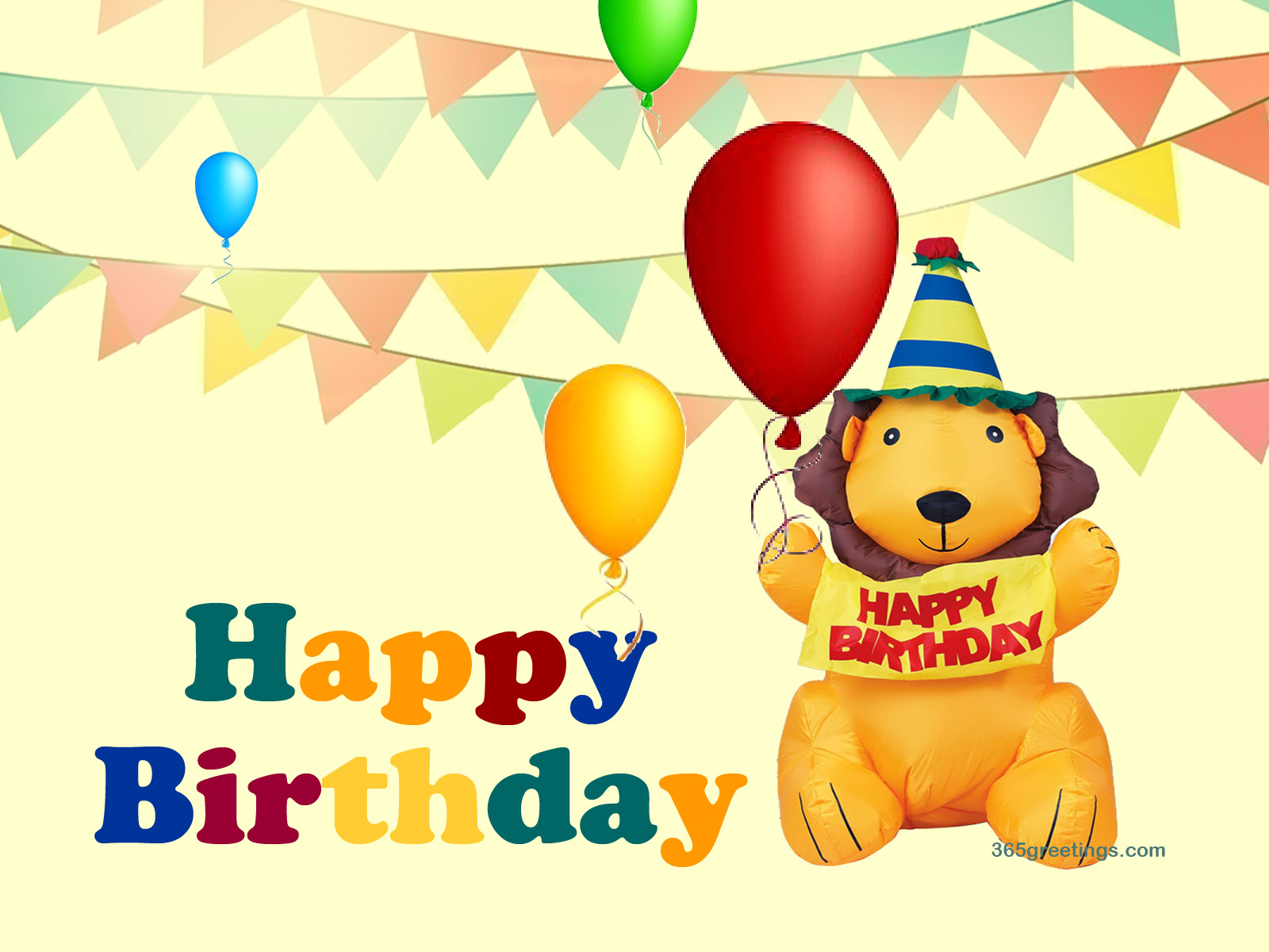 Download ments Happy Birthday Balloons Wallpaper Full