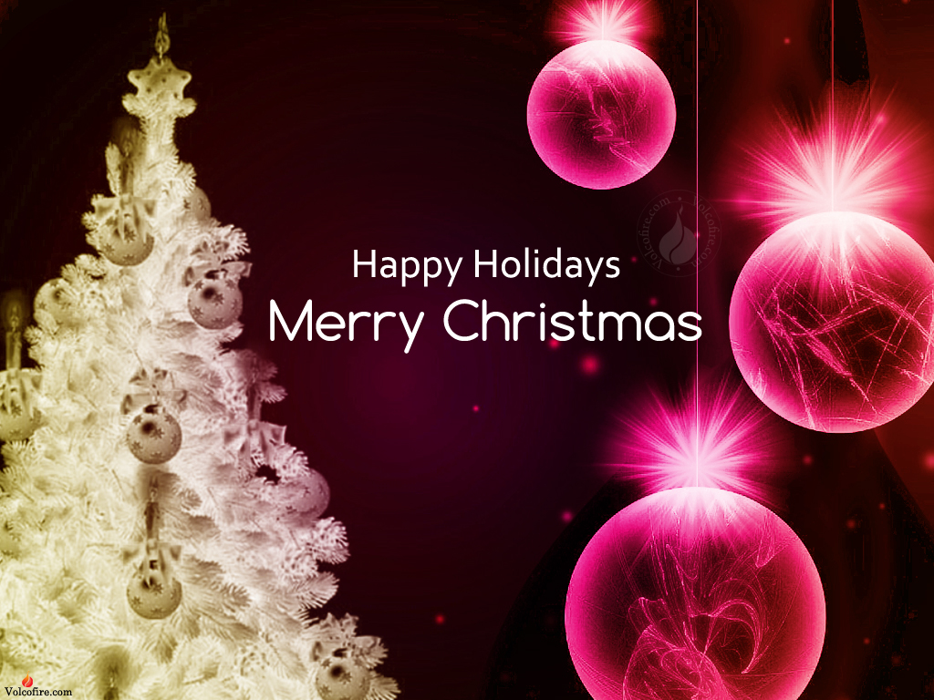 Happy Holidays Backgrounds Wallpaper 1024x768