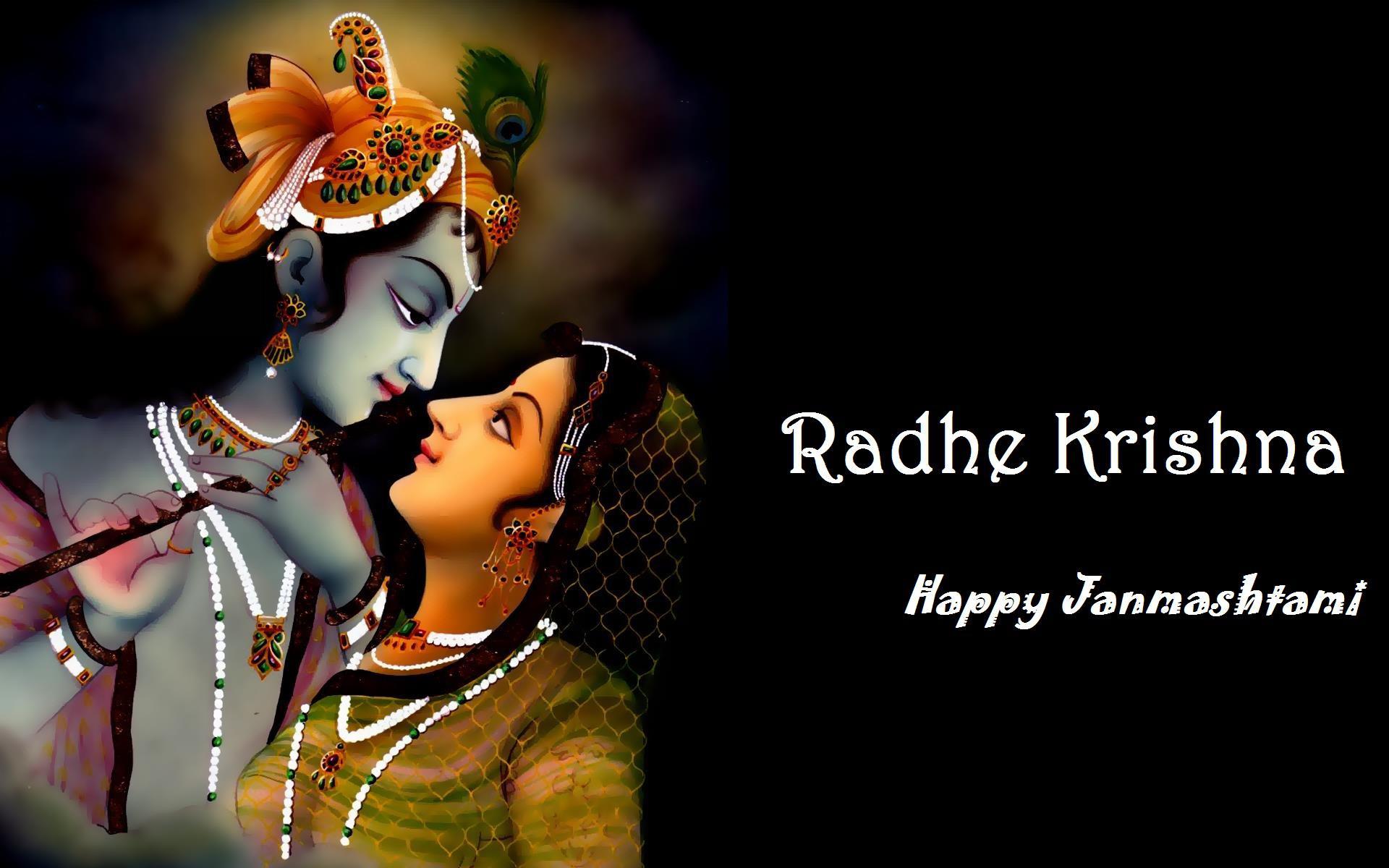 Happy Janmashtami Festival Blue Hd Wallpaper Rh Whoa In