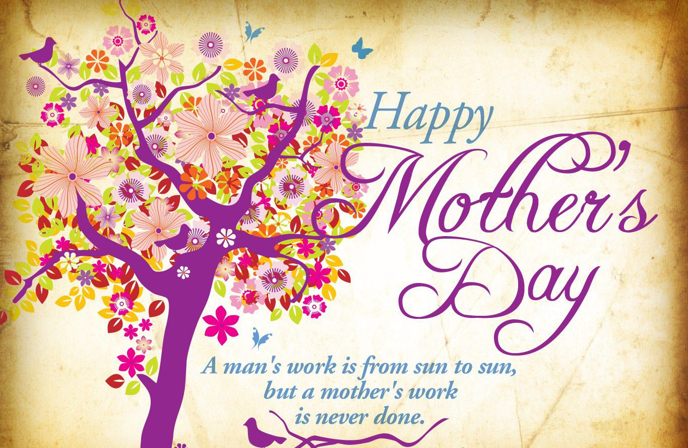 Amazingly Beautiful Happy Mothers Day Wallpapers for even 1365x888