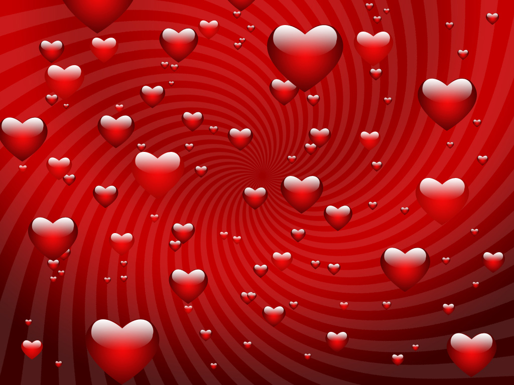 Hearts Background Wallpaper Colorful Heart Pinterest 1024x768