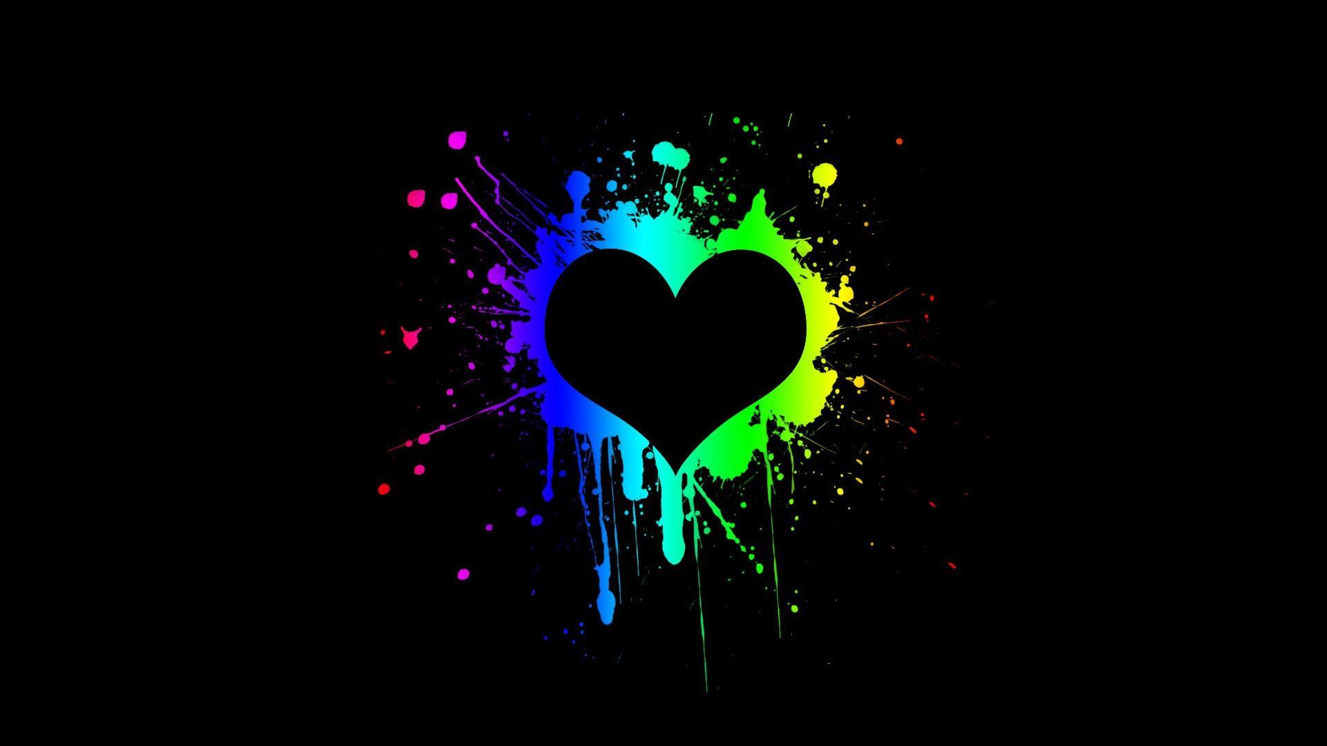 Wallpaper Hd Abstract Love