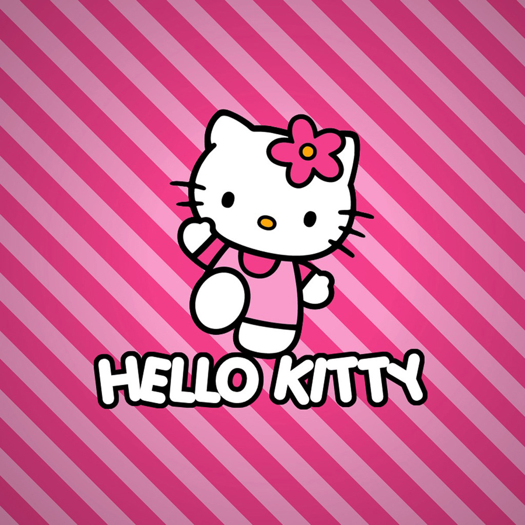 Rose Red Hello Kitty Wallpaper Free Iphone Wallpapers 1024x1024