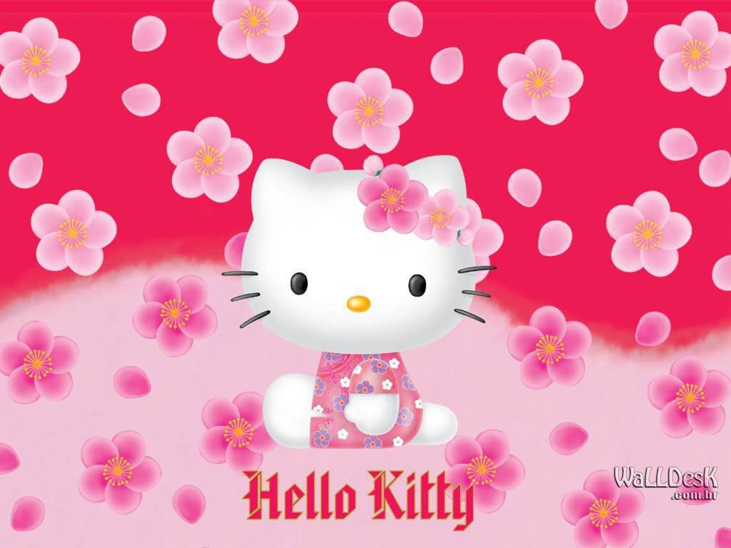 Hello Kitty Hd Wallpapers Wallpaper 1024x768