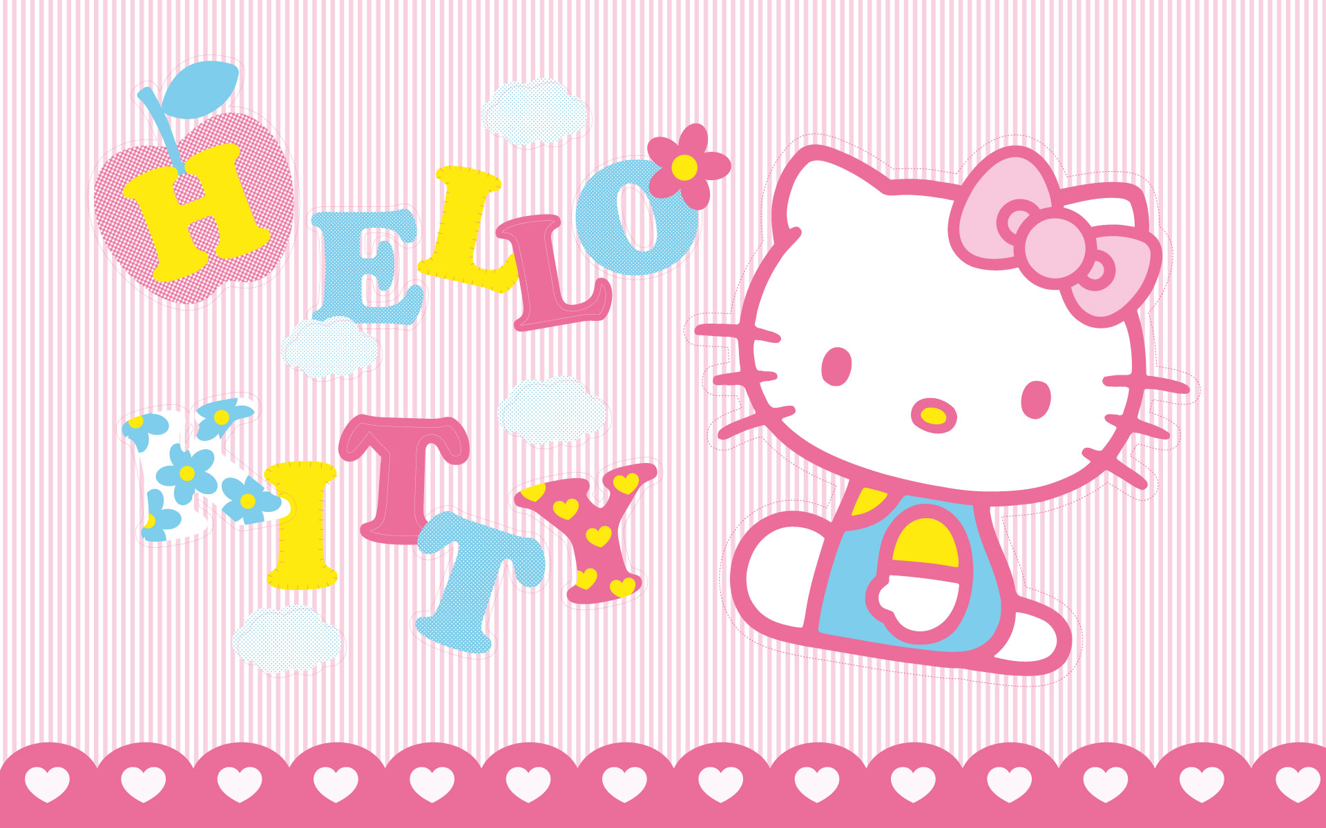 Hello Kitty Desktop Backgrounds Wallpapers  Wallpaper  1920x1200