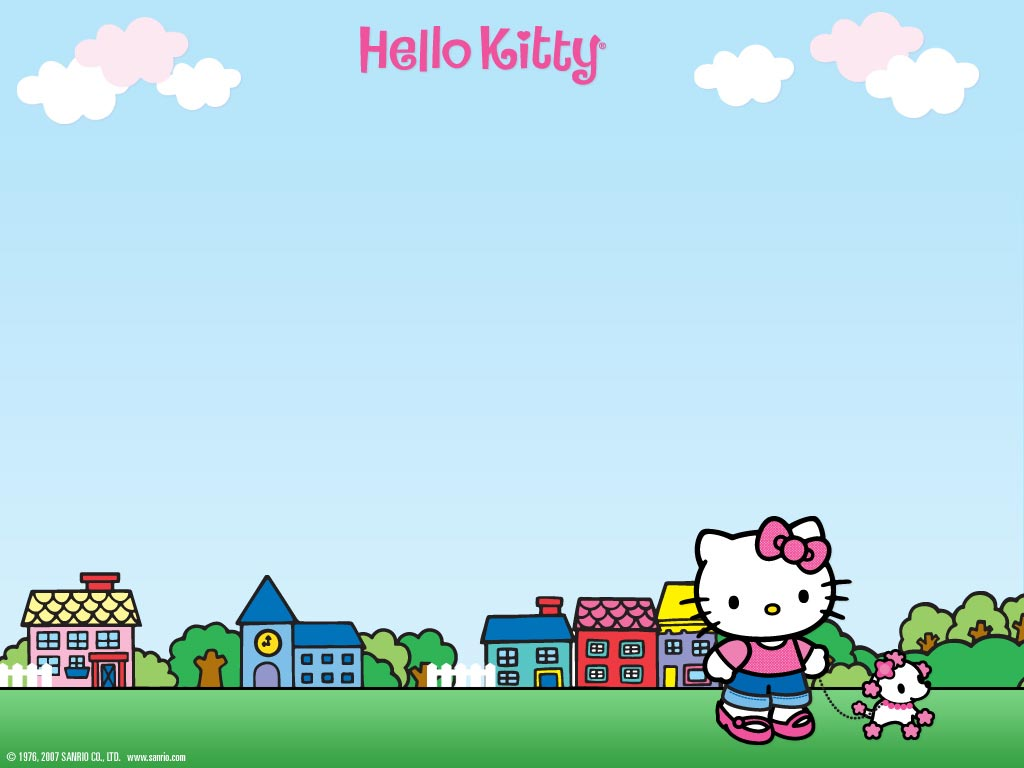 Hello Kitty HD Wallpapers  Backgrounds  Wallpaper  1024x768