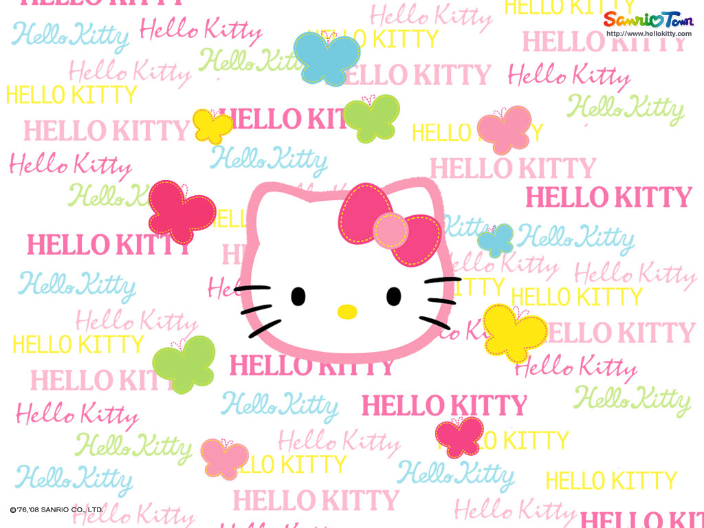 New Hello Kitty Wallpapers  1024x768