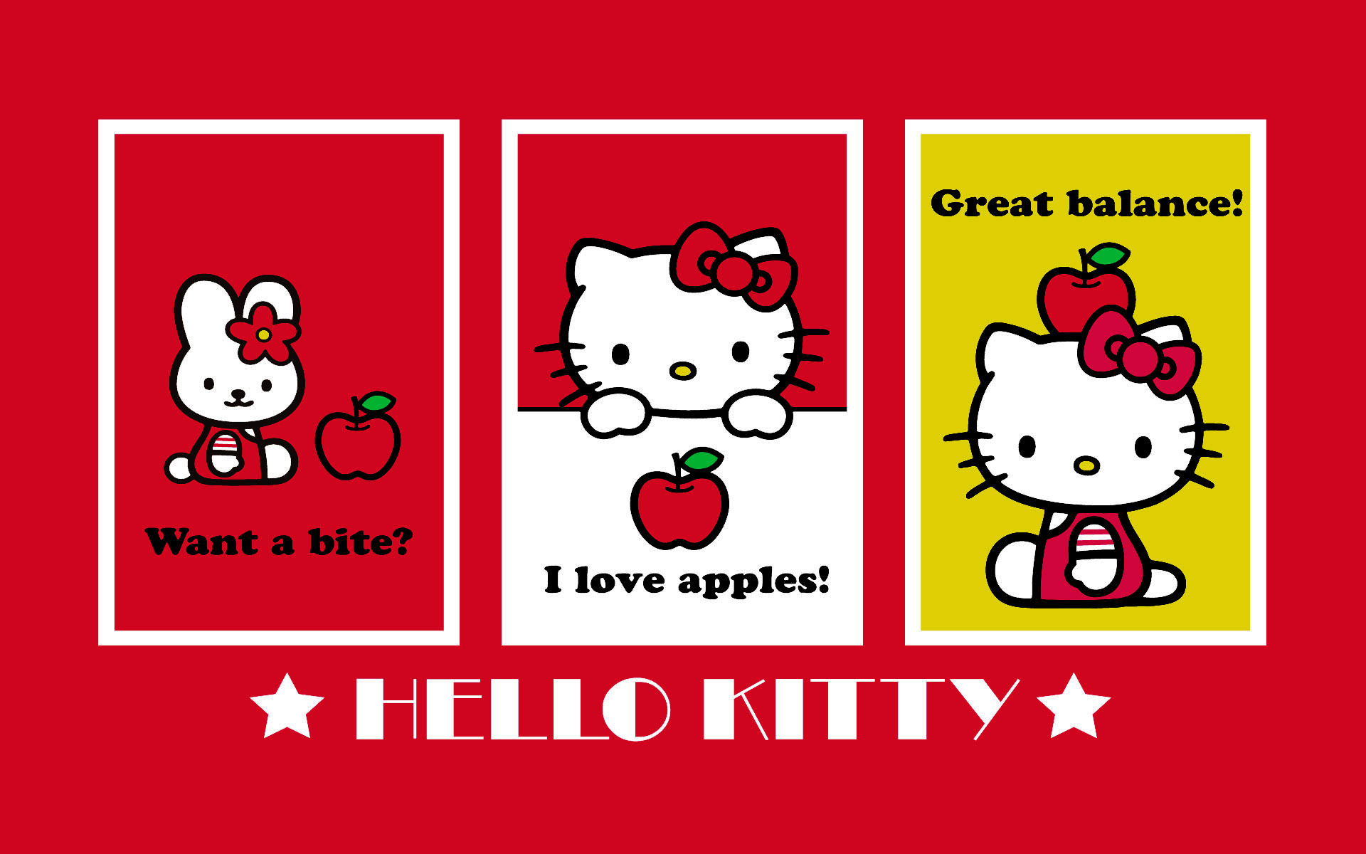 Hello Kitty Wallpaper Iphone 1920x1200