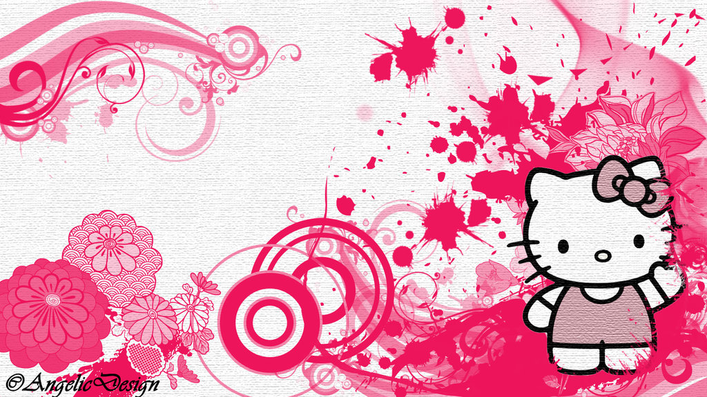 Hello Kitty HD Wallpapers  Backgrounds  Wallpaper  1024x576