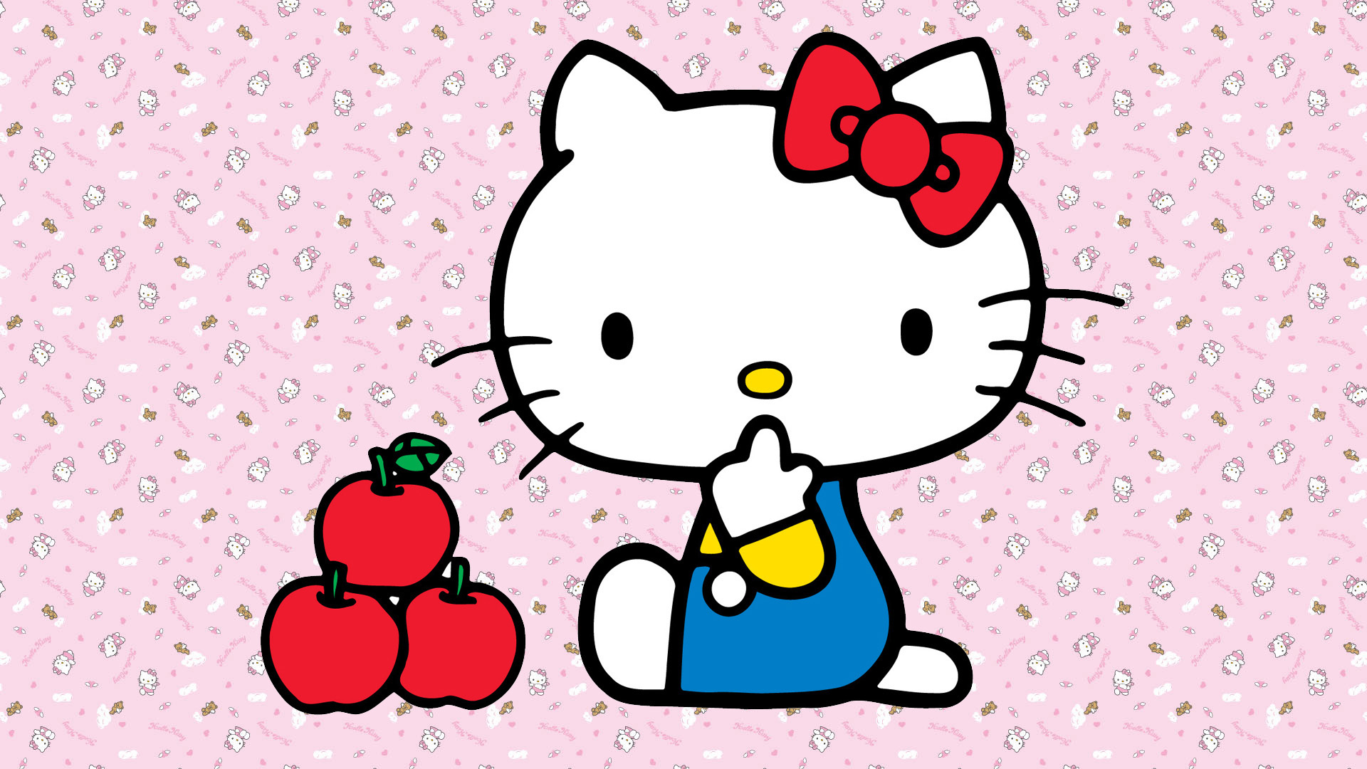 Download hello kitty wallpaper full hd wallpapers 1920x1080 voltagebd Gallery