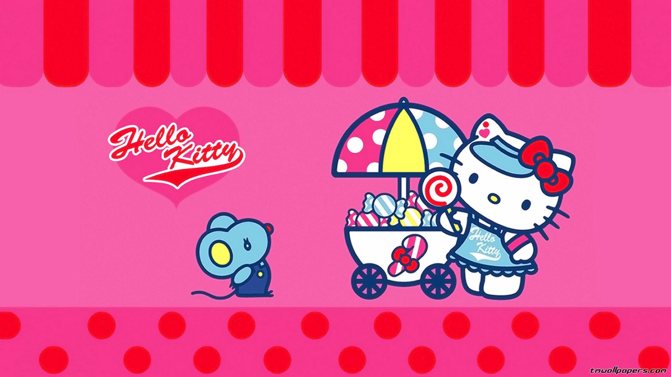 hello kitty wallpaper download  Desktop Backgrounds for Free HD 1366x768
