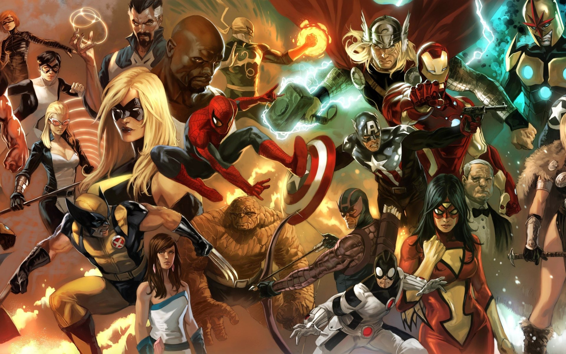 Group of super heroes hd wallpapers 1920x1200 3d super heroes wallpapers 68 images voltagebd Choice Image