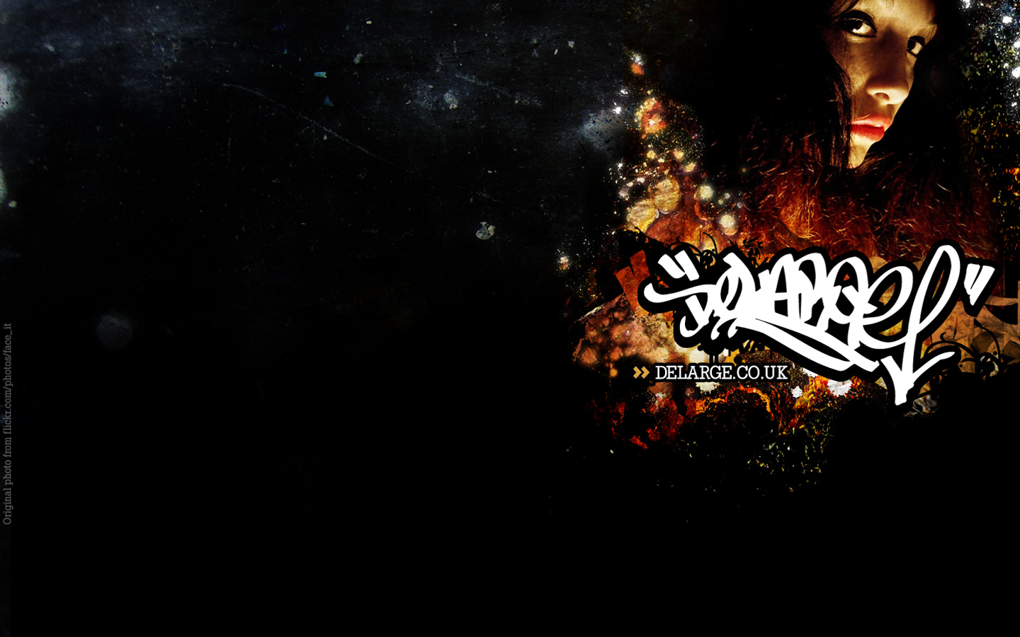 Hip hop music abstract wallpaper