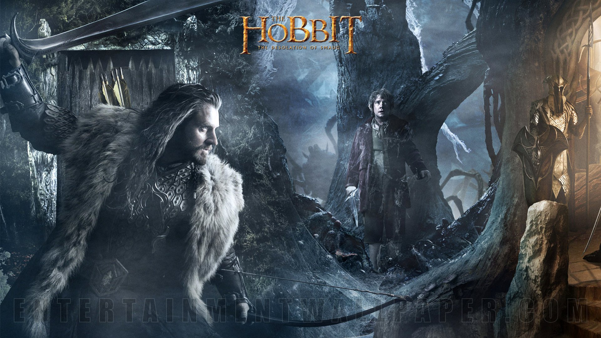 The Hobbit Desolation Of Smaug Wallpaper Elves Bard 1920x1080