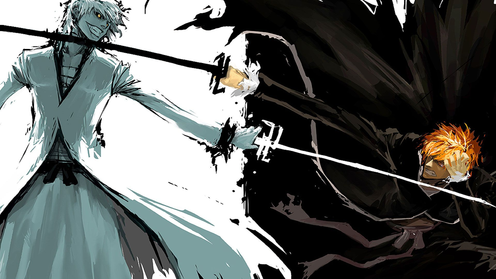 Hollow Ichigo Vs Ichigo